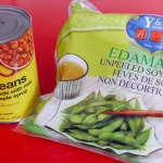 Edamame And Canned Beans