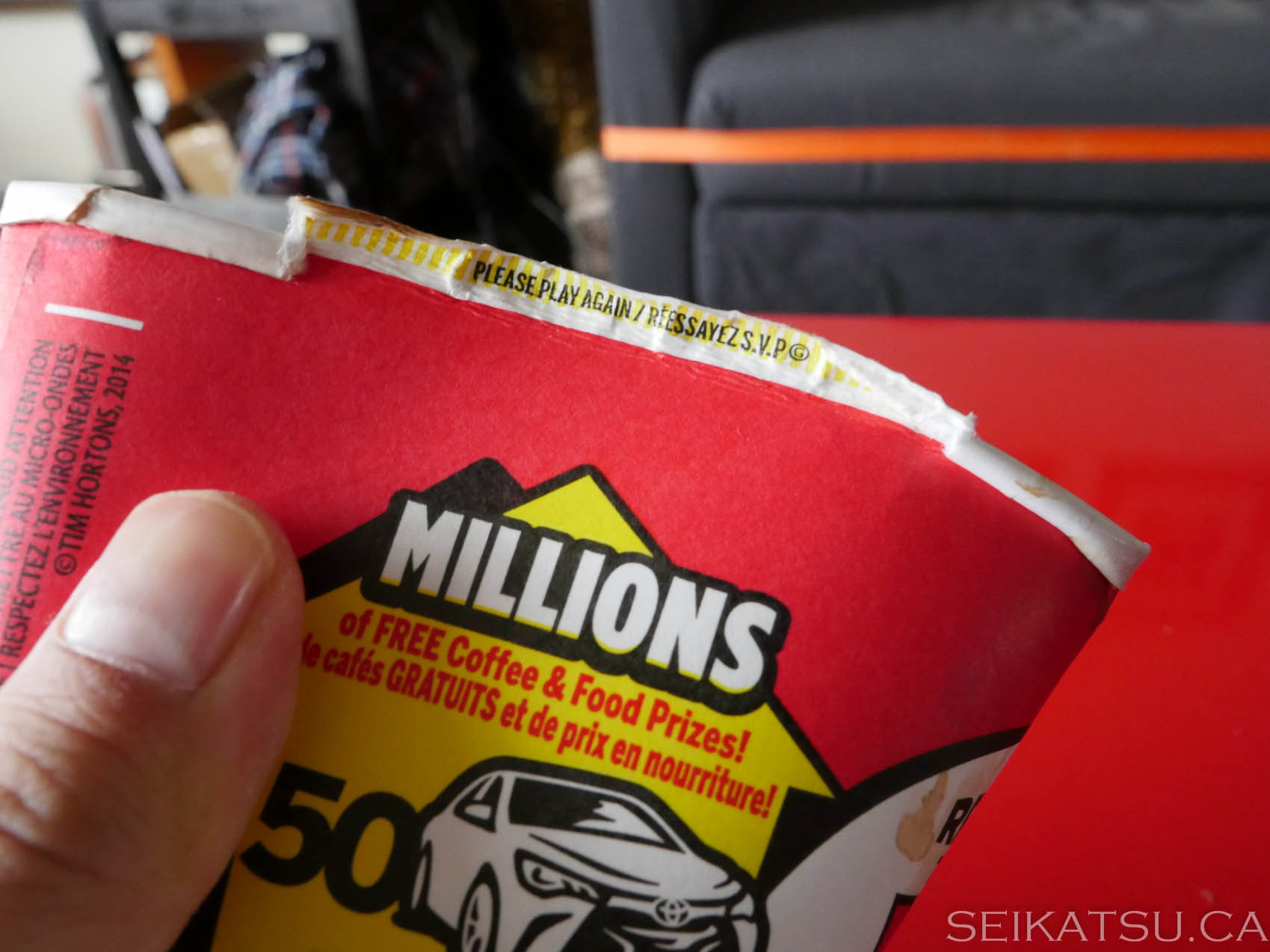 Roll Up The Rim Play Again